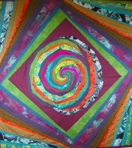 Commission a custom order duvet cover or quilt.