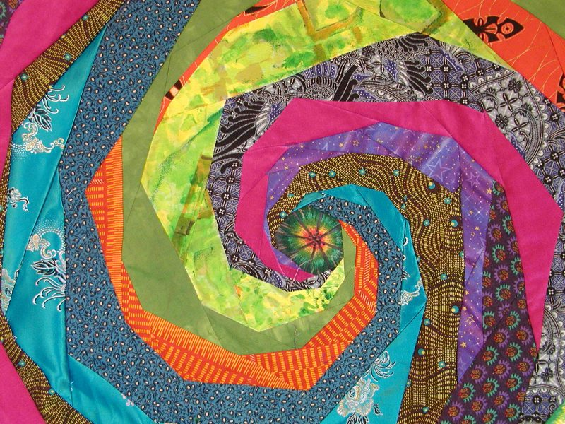 Spiral Patchwork Custom Duvet Cover for Hans and Margo